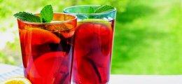 Sangría de alcoholes variados